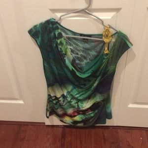 Top  cowl neck great with slacks or skirt